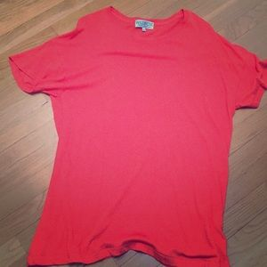 Orange Wildfox T-shirt Dress xs